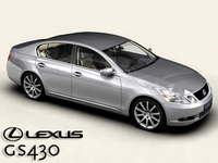 Lexus GS300/430 3D Model
