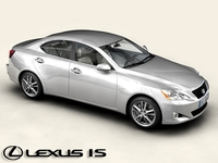 Lexus IS 3D Model