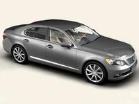 Lexus LS 460 3D Model