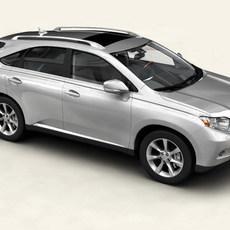 Lexus RX 2010 3D Model
