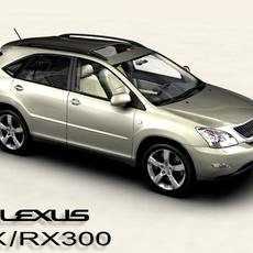 Lexus RX/RX300 2004 3D Model