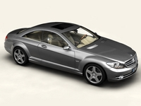 Mercedes CL-Class 3D Model
