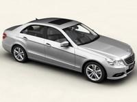 Mercedes E Class 2010 3D Model