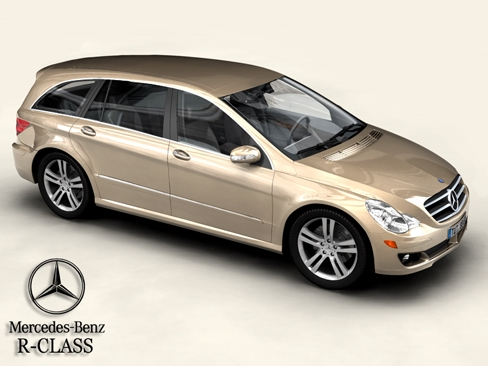 Mercedes R Class 3D Model