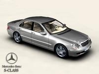 Mercedes S-Class 3D Model
