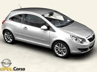 Opel Corsa 3D Model