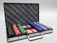 Poker case 3D Model