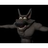 Cartoony werewolf 3D Model
