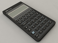 HP-27S Calculator 3D Model