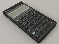HP-27S Calculator 3D Model