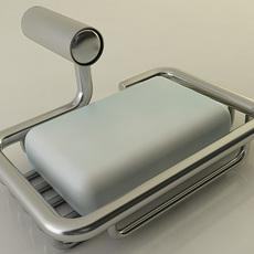 Soap Rack 3D Model