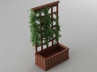 Trellis Planter 3D Model