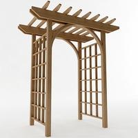 Arbor Trellis Style 1 3D Model