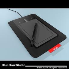 Bamboo Pen & Tablet 3D Model