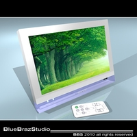 Digital photo frame 3D Model