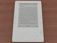Amazon Kindle 2 3D Model