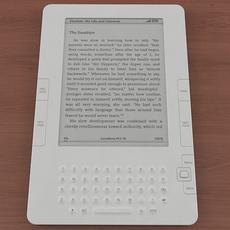 Amazon Kindle 2 3D Model