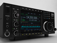 Ten-Tec Omni VII Transceiver 3D Model