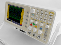 Digital Oscilloscope 3D Model
