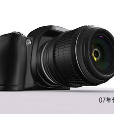 Nikon D40 model(maya2009) 3D Model