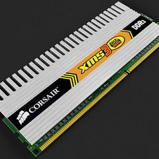 XMS DDR3 Ram 3D Model