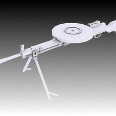 DP-28 3D Model