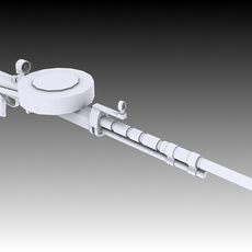 Degtyaryova Tankovy Machine Gun 3D Model