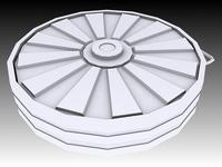 Tellermine T.Mi.35 3D Model