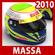 2010 F1 Felipe Massa Helmet 3D Model