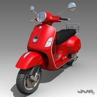 Vespa GTS 3D Model