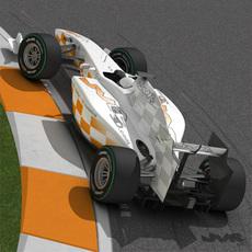 Generic F1 2009 - 2010 3D Model
