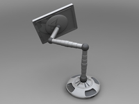 MAGIC SCREEN TV 3D Model