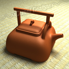 Chinese Teapot 3D Model