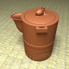 Chinese Teapot 3D Model