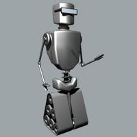 Free Cool Bott 3D Model