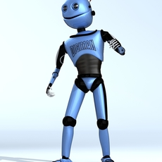 DIGIMAN COOL ROBOT 3D Model