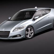 Honda CR-Z 2011 3D Model