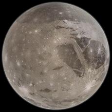 Ganymede 3D Model