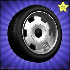Car wheel 004 3D Model