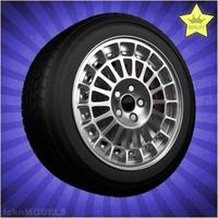 Car wheel 007 3D Model