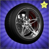 Car wheel 036 3D Model