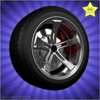 Car wheel 038 3D Model