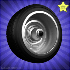 Car wheel 042 3D Model