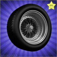 Car wheel 045 3D Model