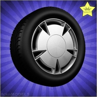 Car wheel 063 3D Model