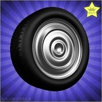 Car wheel 079 3D Model