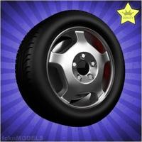 Car wheel 080 3D Model