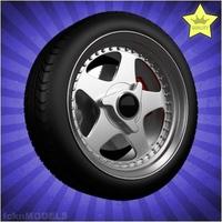 Car wheel 082 3D Model