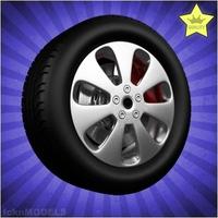 Car wheel 084 3D Model