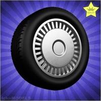 Car wheel 089 3D Model